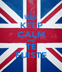 KEEP CALM AND TE FUISTE - Personalised Poster A1 size