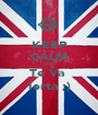 KEEP CALM AND Te Va  Ierta ;) - Personalised Poster A1 size
