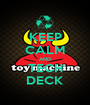 KEEP CALM AND TECH DECK - Personalised Poster A1 size