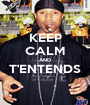 KEEP CALM AND T'ENTENDS  - Personalised Poster A1 size