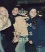 KEEP CALM AND TEXAS 2013  - Personalised Poster A1 size