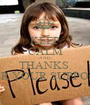 KEEP CALM AND THANKS  FOR YOUR SUPPORT - Personalised Poster A1 size