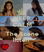KEEP CALM and  The Scene listen  - Personalised Poster A1 size