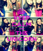 KEEP CALM AND THE UNICORN - Personalised Poster A1 size