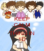 KEEP CALM AND THING IN 1D - Personalised Poster A1 size