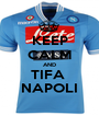 KEEP CALM AND TIFA  NAPOLI - Personalised Poster A1 size