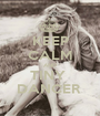 KEEP CALM AND TINY  DANCER  - Personalised Poster A1 size