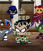KEEP CALM AND Titans GO!! - Personalised Poster A1 size