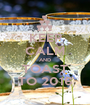 KEEP CALM AND TOAST TO 2016 - Personalised Poster A1 size
