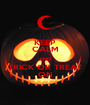 KEEP CALM AND TRICK OR TREAT ON - Personalised Poster A1 size