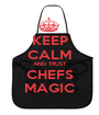 KEEP CALM AND TRUST CHEFS MAGIC - Personalised Poster A1 size