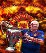 KEEP CALM AND TRUST ME I'M MAN U TO  THE CORE - Personalised Poster A1 size