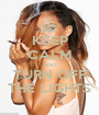 KEEP CALM AND TURN OFF THE LIGHTS - Personalised Poster A1 size