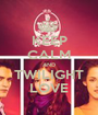 KEEP CALM AND TWILIGHT LOVE - Personalised Poster A1 size