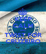KEEP CALM AND TWIST FOR CRUZEIRO - Personalised Poster A1 size