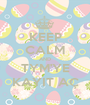 KEEP CALM AND TYM'YE KAYIT AÇ - Personalised Poster A1 size