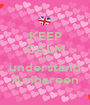 KEEP CALM AND understand Ambareen - Personalised Poster A1 size