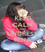 KEEP CALM AND UNDRESS NINA - Personalised Poster A1 size