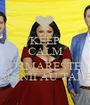 KEEP CALM and URMARESTE ROMANII AU TALENT - Personalised Poster A1 size