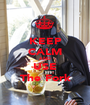 KEEP CALM AND USE The Fork - Personalised Poster A1 size