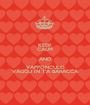 KEEP CALM AND VAFFONCULO VAGGU IN T'A BARACCA - Personalised Poster A1 size