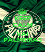 KEEP CALM AND VAI PALMEIRAS - Personalised Poster A1 size