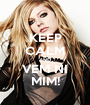 KEEP CALM AND VEM NI MIM! - Personalised Poster A1 size
