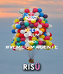 KEEP CALM AND #VEMCOMAGENTE  - Personalised Poster A1 size