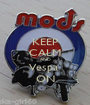 KEEP CALM AND Vespa  ON - Personalised Poster A1 size