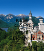 KEEP CALM AND VISIT GERMANY - Personalised Poster A1 size