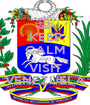 KEEP CALM AND VISIT VENEZUELA - Personalised Poster A1 size