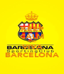 KEEP CALM AND VIVA BARCELONA - Personalised Poster A1 size