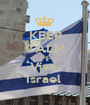 KEEP CALM AND Viva  Israel  - Personalised Poster A1 size