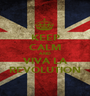 KEEP CALM AND VIVA LA REVOLUTION - Personalised Poster A1 size