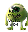 KEEP CALM AND VOTA #04 - Personalised Poster A1 size
