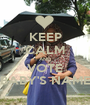KEEP CALM AND VOTE BABY'S NAME - Personalised Poster A1 size