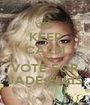 KEEP CALM AND VOTE FOR JADE ELLIS - Personalised Poster A1 size