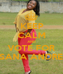 KEEP CALM AND VOTE FOR TRISANA ANDREWS - Personalised Poster A1 size