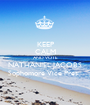 KEEP CALM AND VOTE NATHANIEL JACOBS Sophomore Vice Pres.  - Personalised Poster A1 size