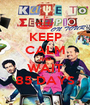 KEEP CALM AND WAIT 85 DAYS - Personalised Poster A1 size