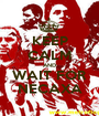 KEEP CALM AND WAIT FOR NECAXA - Personalised Poster A1 size