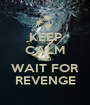 KEEP CALM AND WAIT FOR REVENGE - Personalised Poster A1 size