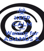 KEEP CALM AND Waiting for ADAMUS S. - Personalised Poster A1 size