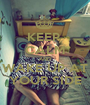 KEEP  CALM AND WAKE UP AT YOUR SIDE - Personalised Poster A1 size
