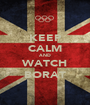 KEEP CALM AND WATCH BORAT - Personalised Poster A1 size