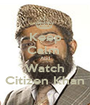 Keep Calm  And Watch Citizen Khan - Personalised Poster A1 size