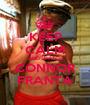 KEEP CALM AND WATCH CONNOR FRANTA - Personalised Poster A1 size