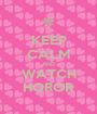 KEEP CALM AND WATCH HOROR - Personalised Poster A1 size