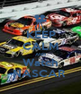 KEEP CALM AND Watch NASCAR  - Personalised Poster A1 size