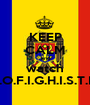 KEEP CALM and watch P.O.F.I.G.H.I.S.T.I.I - Personalised Poster A1 size